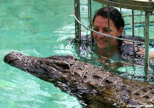 Экстремальный курс по зоопарку (6 фото)