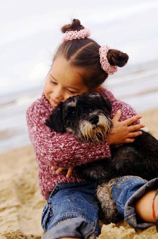 Животные → дети и животные 15 фото