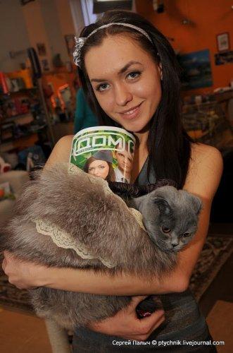 Кошка Палыча и Маши с Дома 2 (16 фото)