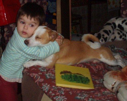 Дети и животные - вместе, а не вместо
