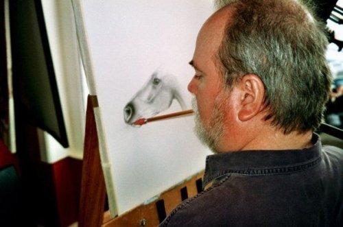 Рисунки животных от  Дуга Лендиса (16 фото)
