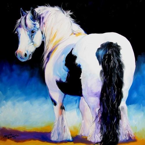 Лошади от  Марссии Болдуин (26 фото)