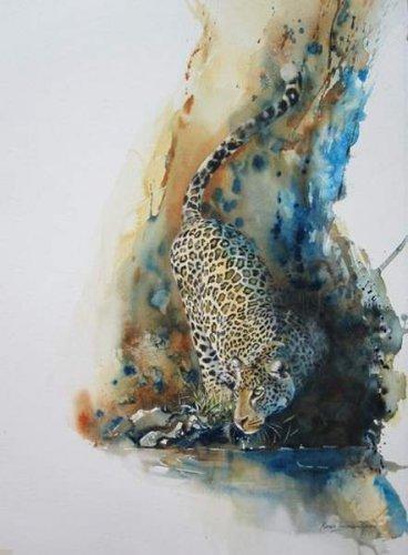 Африканские зарисовки Karen Laurence-Rowe (15 фото)