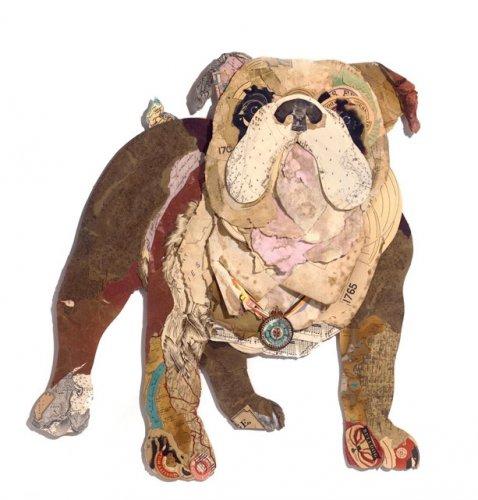 Собаки из бумаги (15 фото)