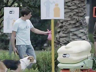 Убери за своей собакой и получи бесплатный Wi-Fi