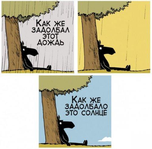 Забавные комиксы и карикатуры (25 фото)