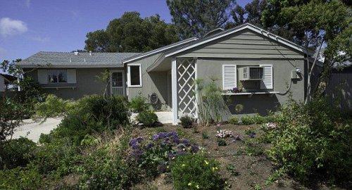 Кошкин дом в Сан-Диего (7 фото)