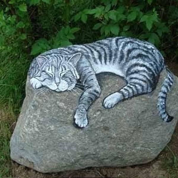 Фото на камне своими руками
