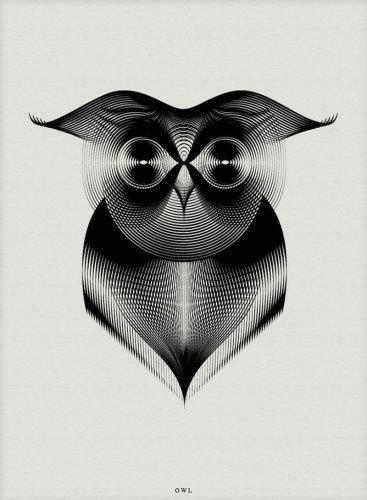 Животные в необычных иллюстрациях (5 фото)