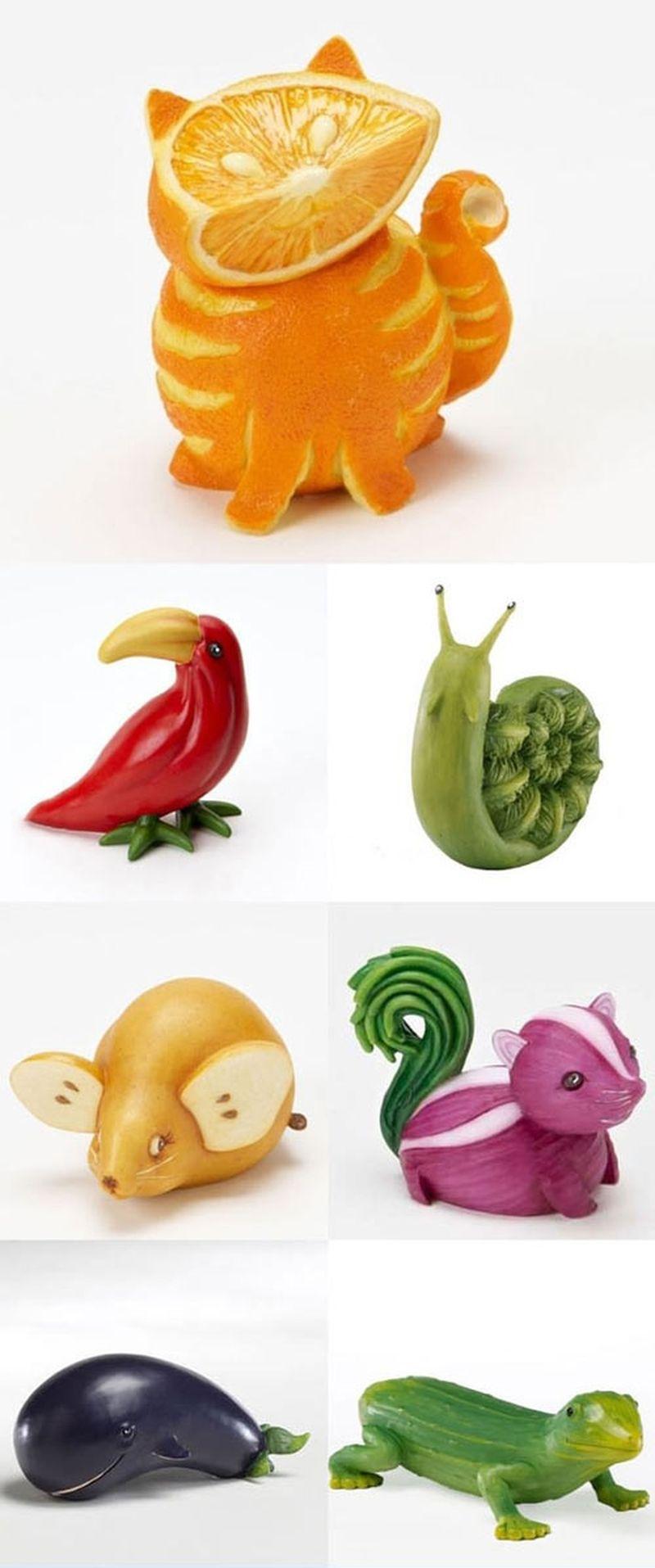 Поделки забавные животные