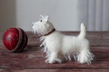 Вязанные собаки (7 фото)