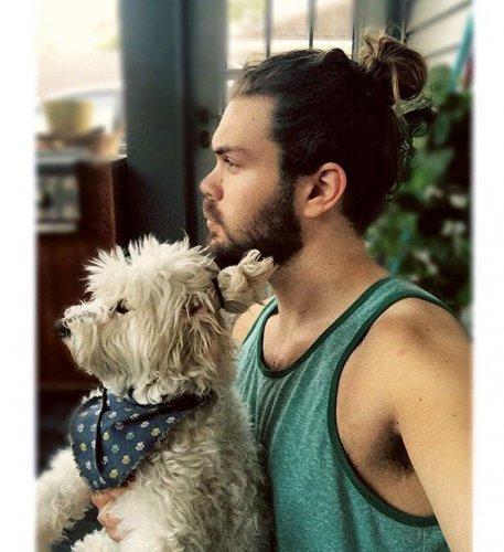 Собаки с гульками (14 фото)