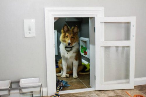 Уютный домик для собаки (11 фото)