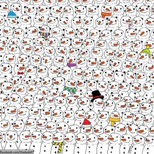 Новогодний квест: Найди панду