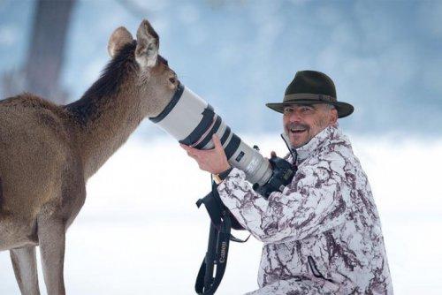 Фото-зарисовки из жизни фотографов-натуралистов и их очаровательных моделей  (21 фото)