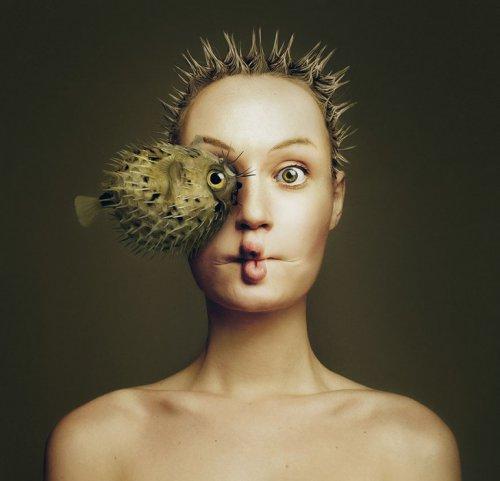 Художница стала одним целым с животными, посмотрев на мир их глазами (6 фото)