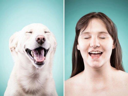 15 фотографий собак и их владельцев, похожих как две капли воды (15 фото)