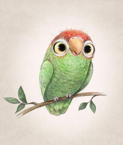 Очаровательные существа в иллюстрациях Сидни Хэнсон, которые заставят Вас улыбнуться (24 фото)