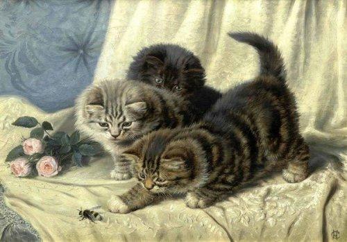 Эмоциональные кошки от Горацио Генри Коулдри (32 фото)