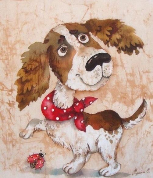 Год собаки в весёлых картинках (10 фото)