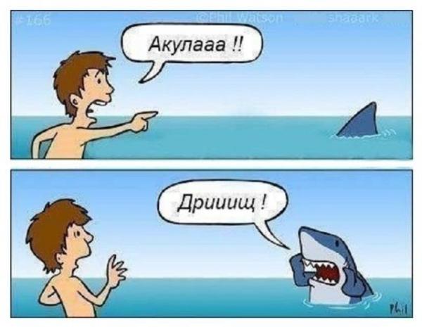 Комиксы-приколы с участием животных (25 фото)
