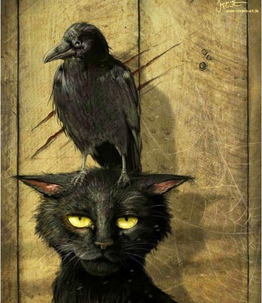 «Ворона и кот» – светлая добрая сказка для взрослых