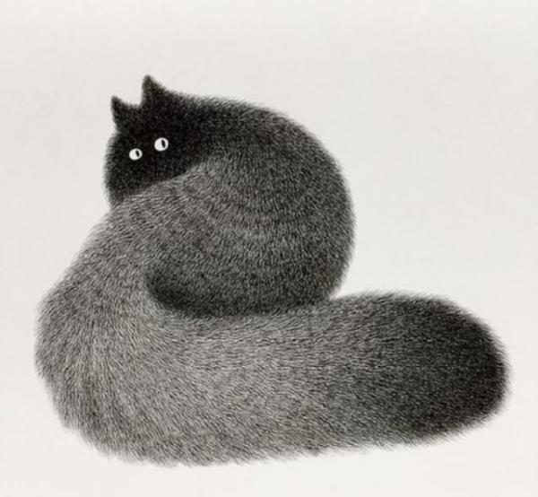 Юмор: Обязанности по дому каждого кота